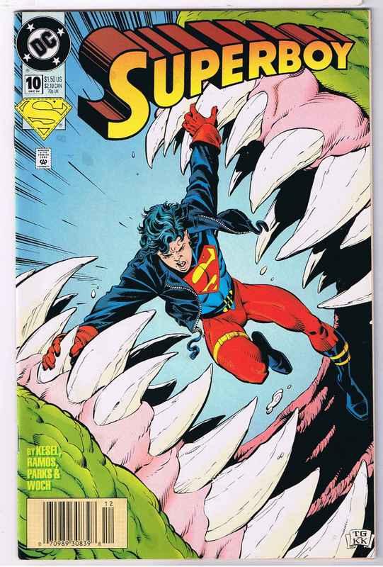 Slay, Monstrobot of the Deep!!: I Miss...Superboy