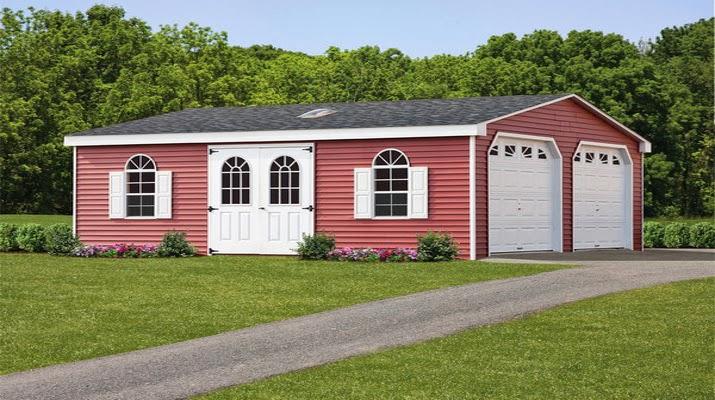 Amish Made Garages : Shedsamishbuilt storage sheds absolutely amish