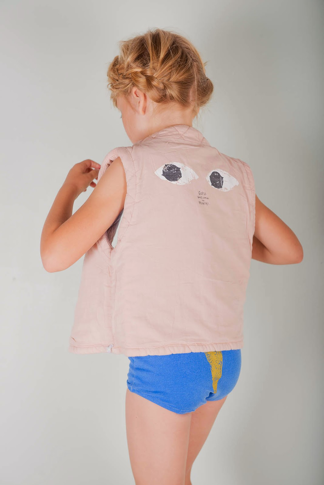 Bobo Choses Spring-Summer 2015 - eyes vest