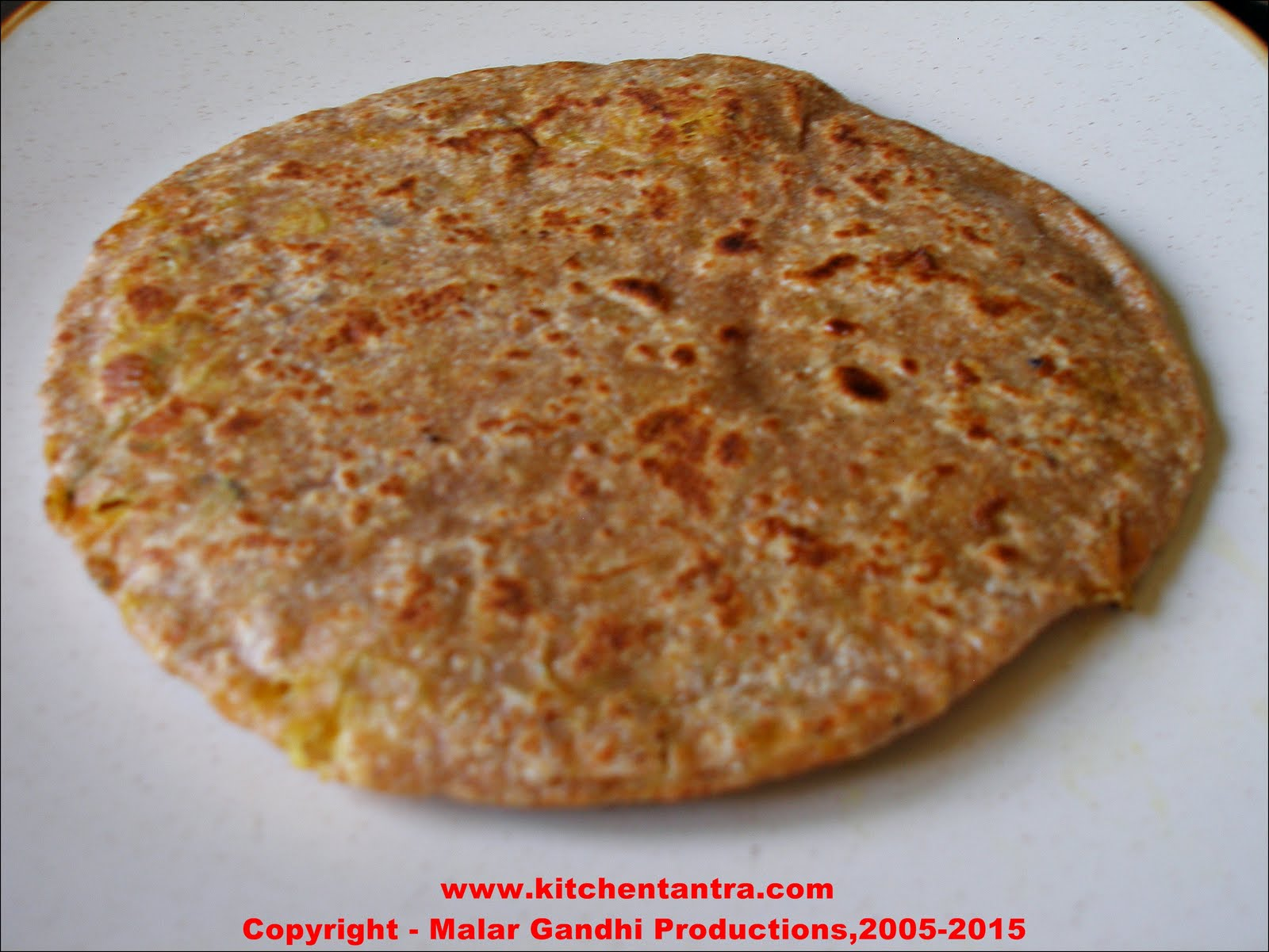 Alu Paratha / Aloo Paratha / Potatoes Stuffed Flat Bread | Kitchen ...