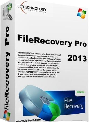FileRECOVERY PRO 2013