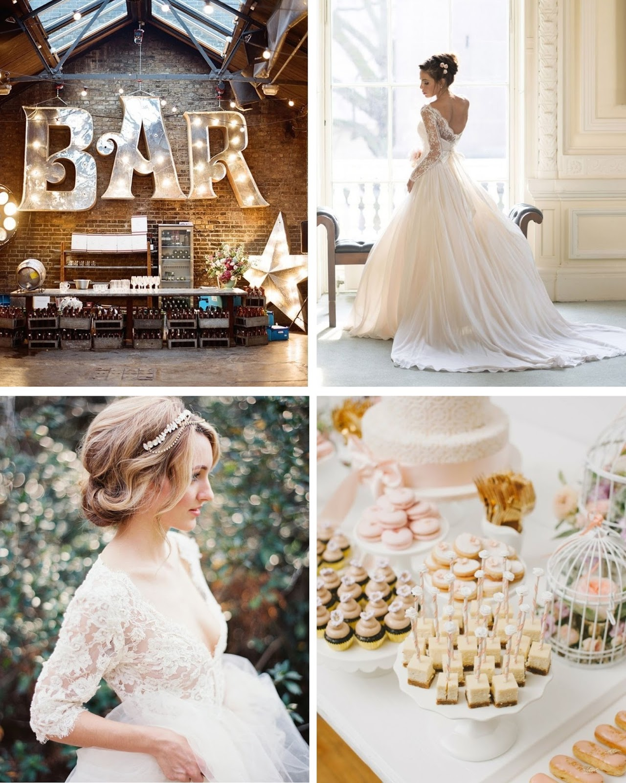 how to style a natural, neutral wedding
