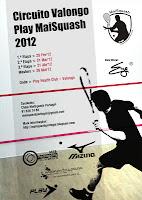 Circuito Valongo Play MaiSquash 2012