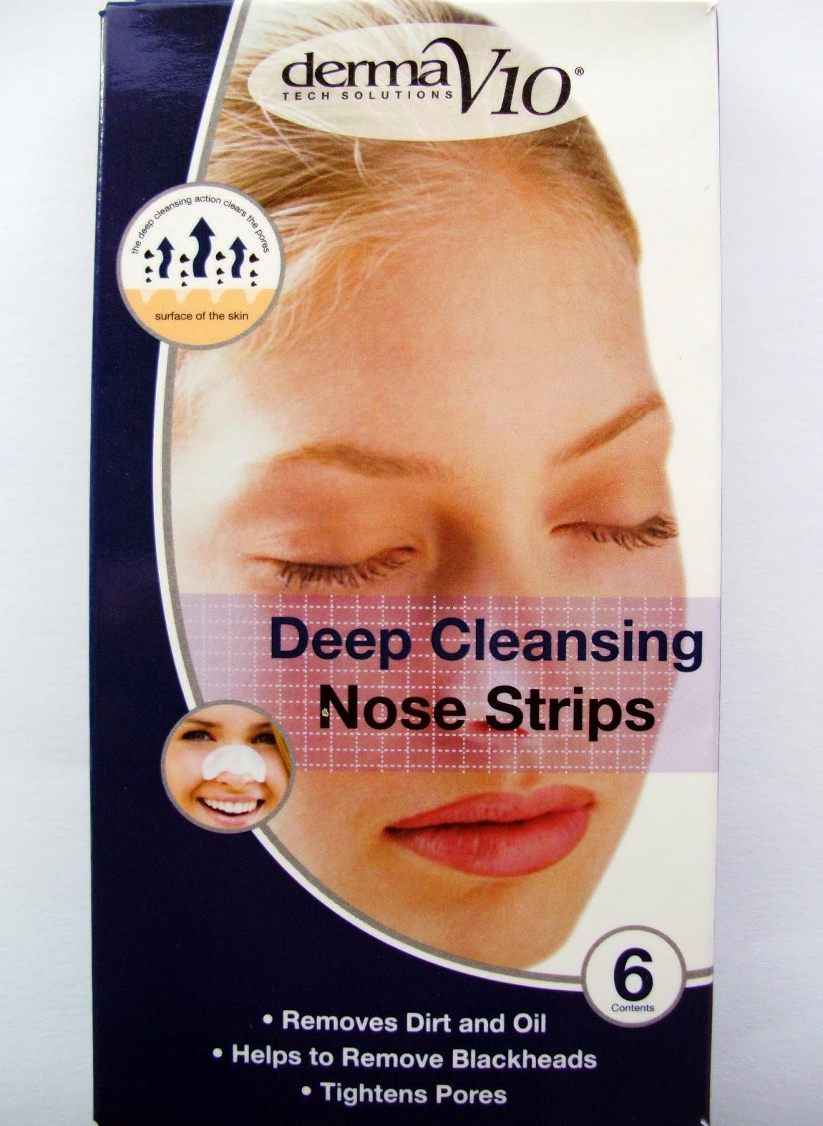 Derma V10 Deep Cleansing Nose Strips