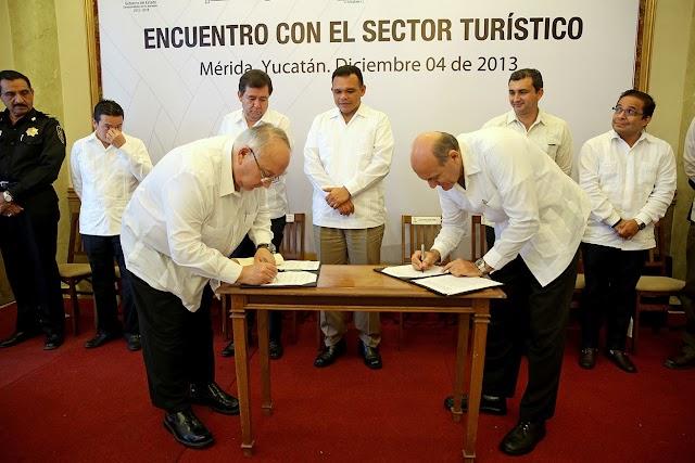 Aumenta la afluencia de turistas a Yucatán en 2013