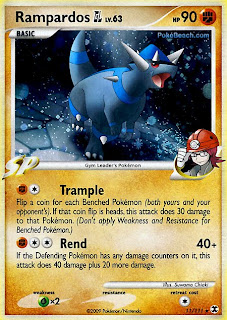 Rampardos GL Pokemon Card Rising Rivals Set
