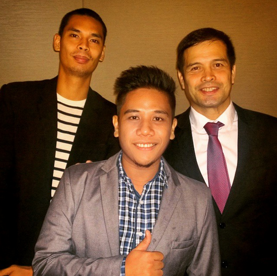 Mark Milan Macanas, Alvin Patrimonio, Japeth Aguilar