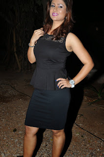 Shilpa Chakravarthy  Pictures in Short Dress at Heroine Movie Audio Launch ~ Celebs Next