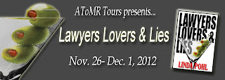 {G!veaway} Lawyers, Lovers & Lies by Linda Pohl