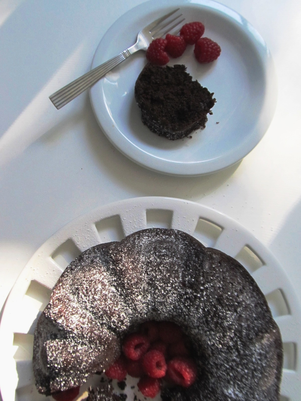Weight Watchers Chocolate Buttermilk Bundt Cake