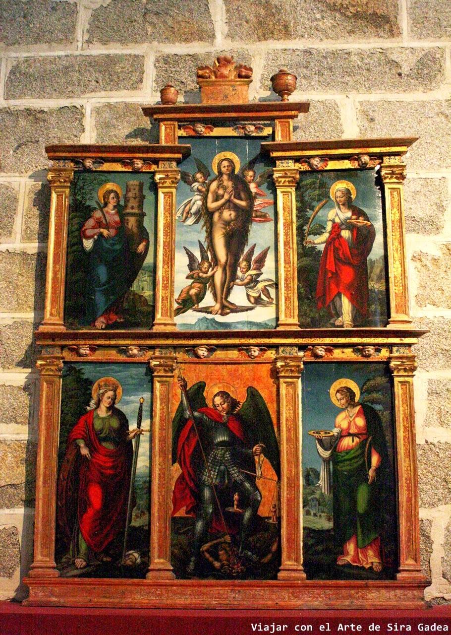 retablo catedral Ávila