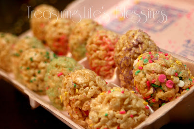 rice krispie easter egg treat, recipe, easter, dessert
