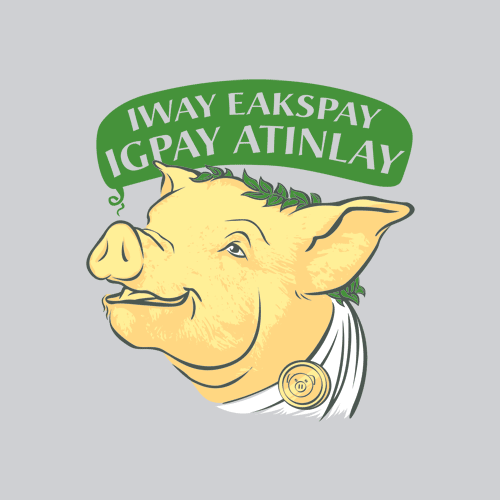 pig latin Interjection ixnay no verb ixnay (third-person singular simple present ixnays, present participle ixnaying, simple past and past participle ixnayed.