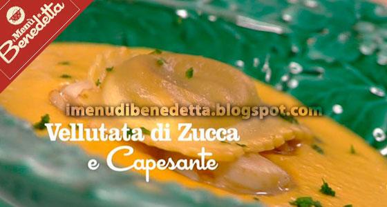 Vellutata di Zucca e Capesante di Benedetta Parodi