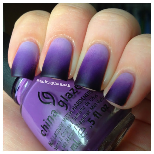 Purple Nail Art Designs 7