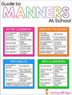 Teaching With Moxie: Manners, not rules, at School