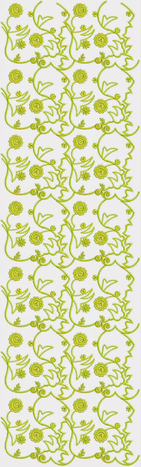 17de eeu borduurwerk Oral patroon