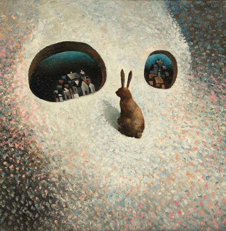 Sueños casi se puede tocar. Pinturas del artista finlandés Samuli Heimonen