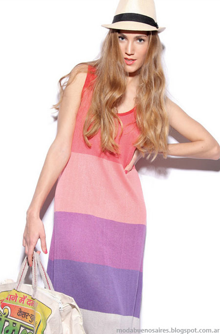 Moda verano 2013: Agostina Bianchi vestidos verano 2013