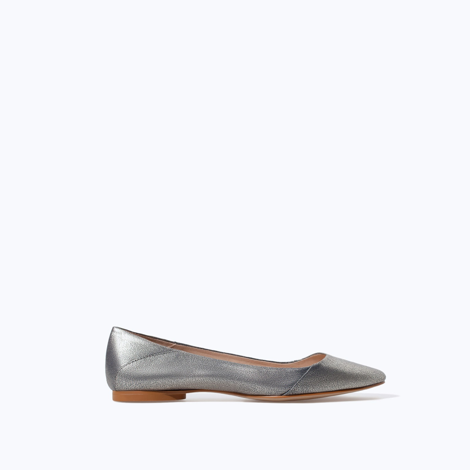 zara silver shoes