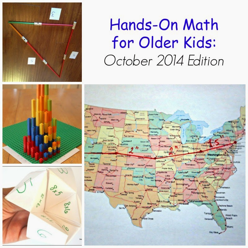 Hands On Math Activities for Older Kids