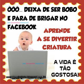 Recadinho Bebê Incentivo para Facebook
