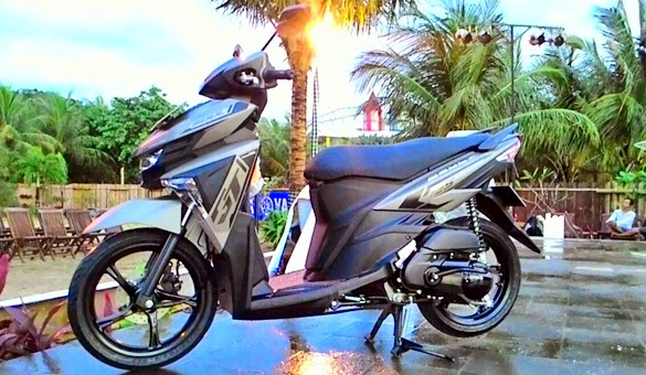 Motor Yamaha All New Soul GT 125 Blue Core Terbaru 2015