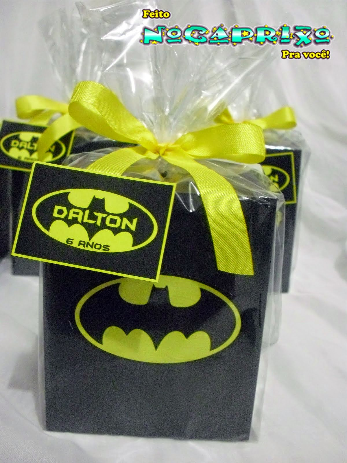 Cofres em MDF - Batman