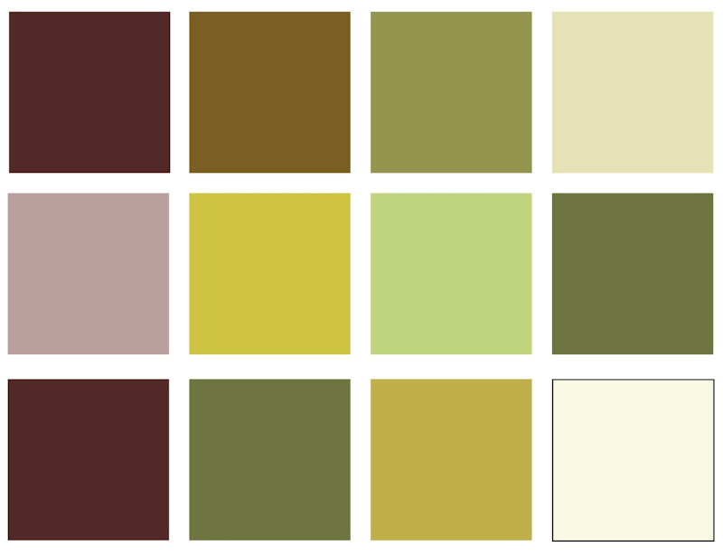 Colors That Match with Green Yellow