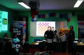 IÑAKI VERGARA BARRENA fue el Campeón del II Torneo de Maestros Ajedrez Kids Arica 2015