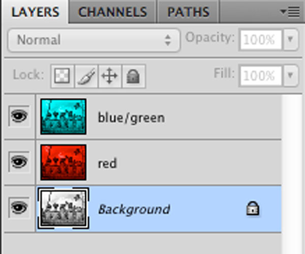 layers panel in photoshop