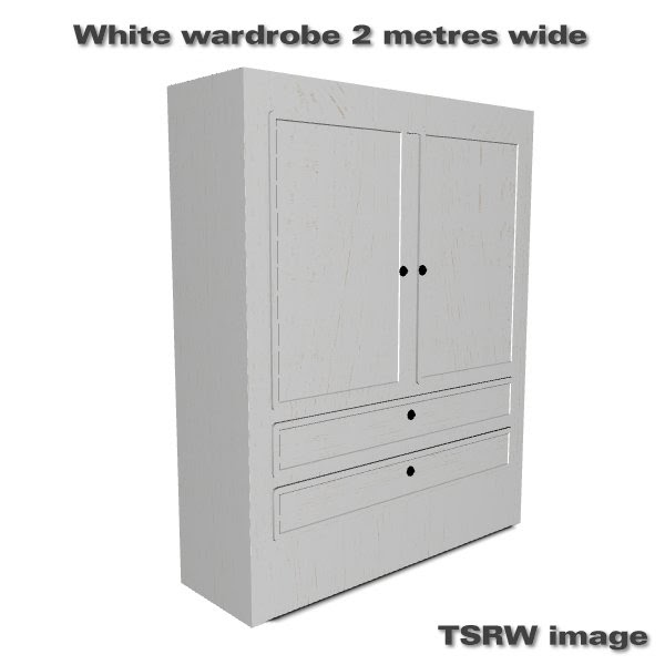 simming in magnificent style white wardrobe 2 metres wide. Black Bedroom Furniture Sets. Home Design Ideas