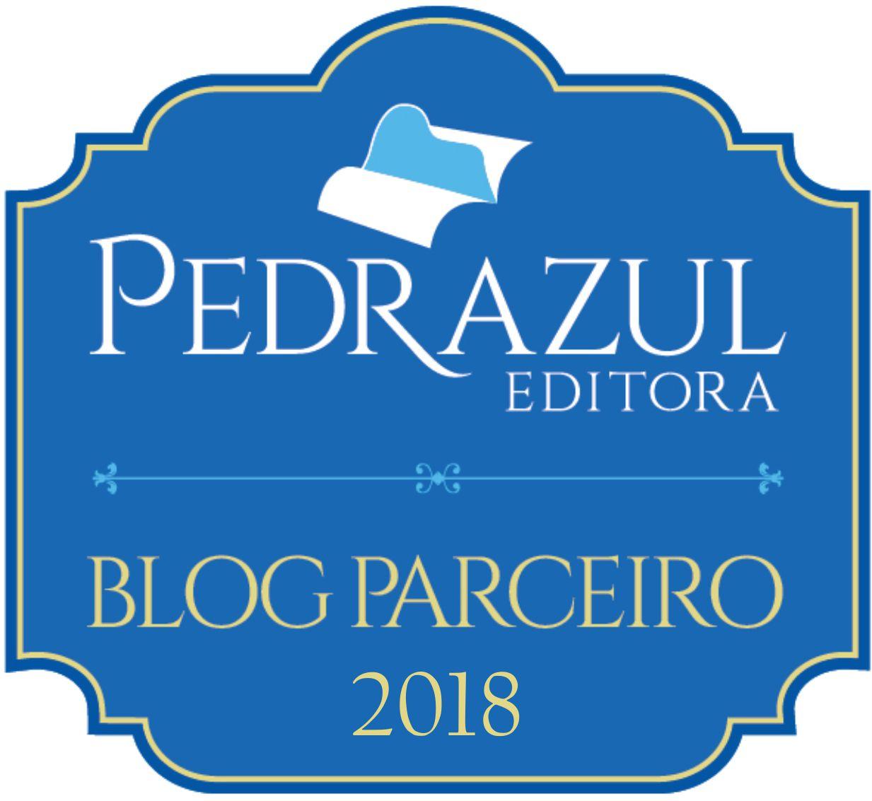 Parceria Pedra Azul Editora 2018