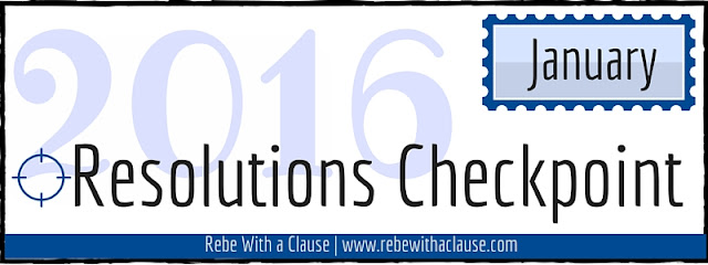 Resolutions Checkpoint - January 2016