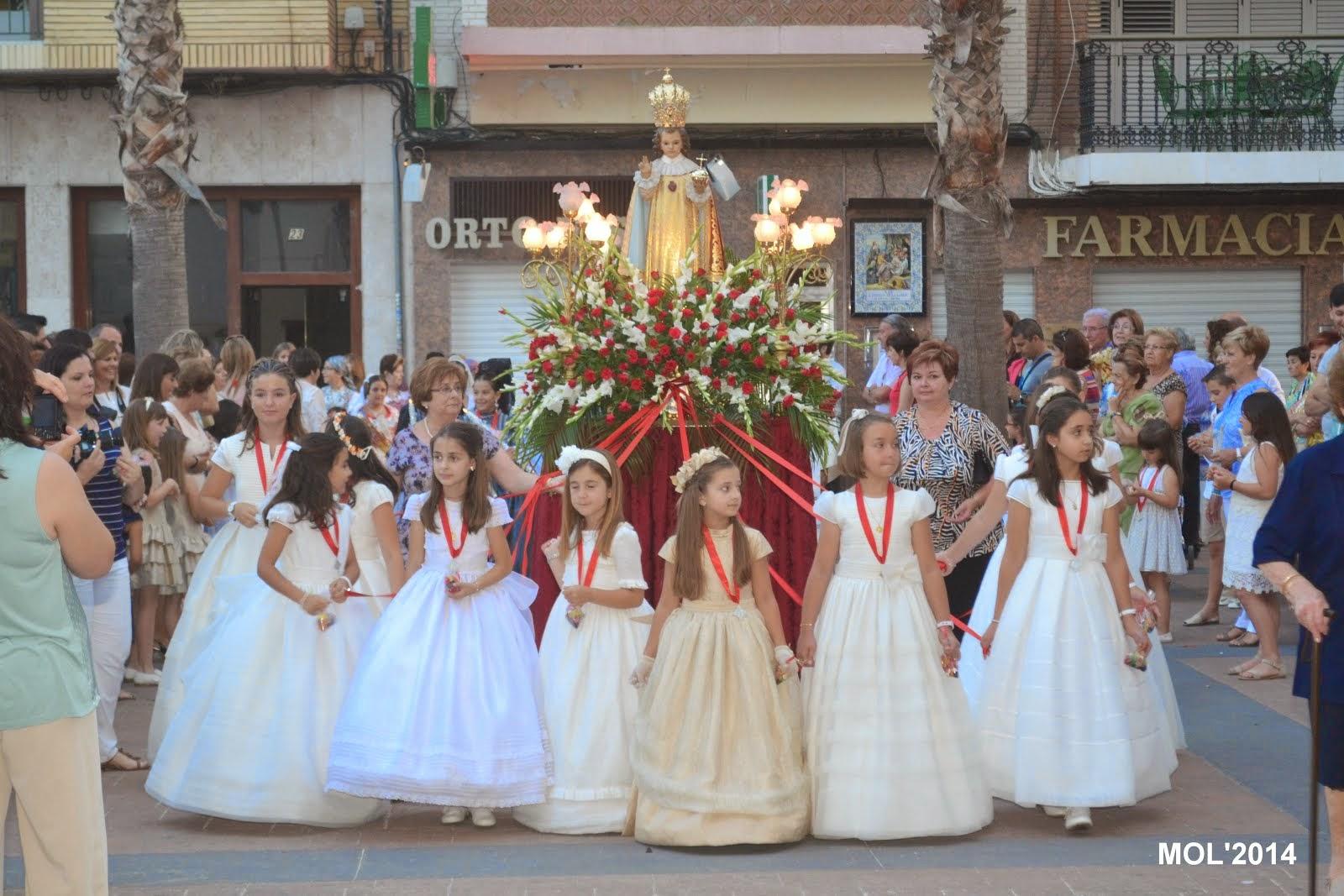 FIESTA AL NIÑO JESÚS DE PRAGA, PARROQUIA DE SAN JUAN BAUTISTA DE MANISES, DOMINGO DÍA 15 DE JUNIO.