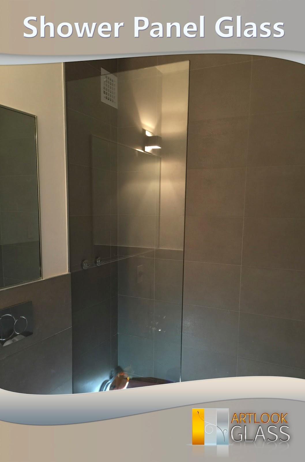 Shower Panel Glass Shower Door Installation