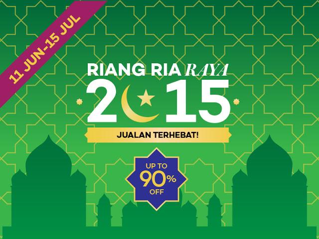Persiapan Hari Raya Tengkubutang Bersama Lazada Malaysia
