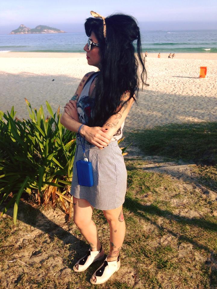 Praia da Barra - Sósia Amy Winehouse