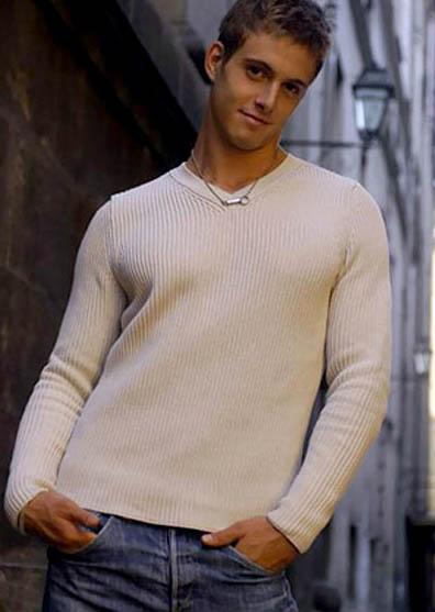 Italian model Emanuele Fiore