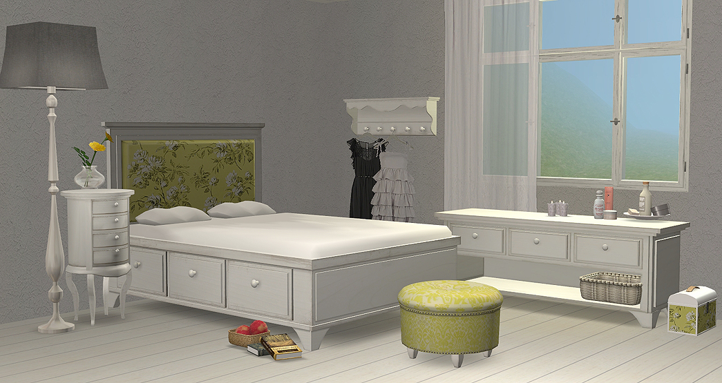 the sims 2 finds anye bitta bedroom special furniture