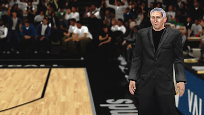NBA 2K13 Coach Gregg Popovich Cyberface Patch