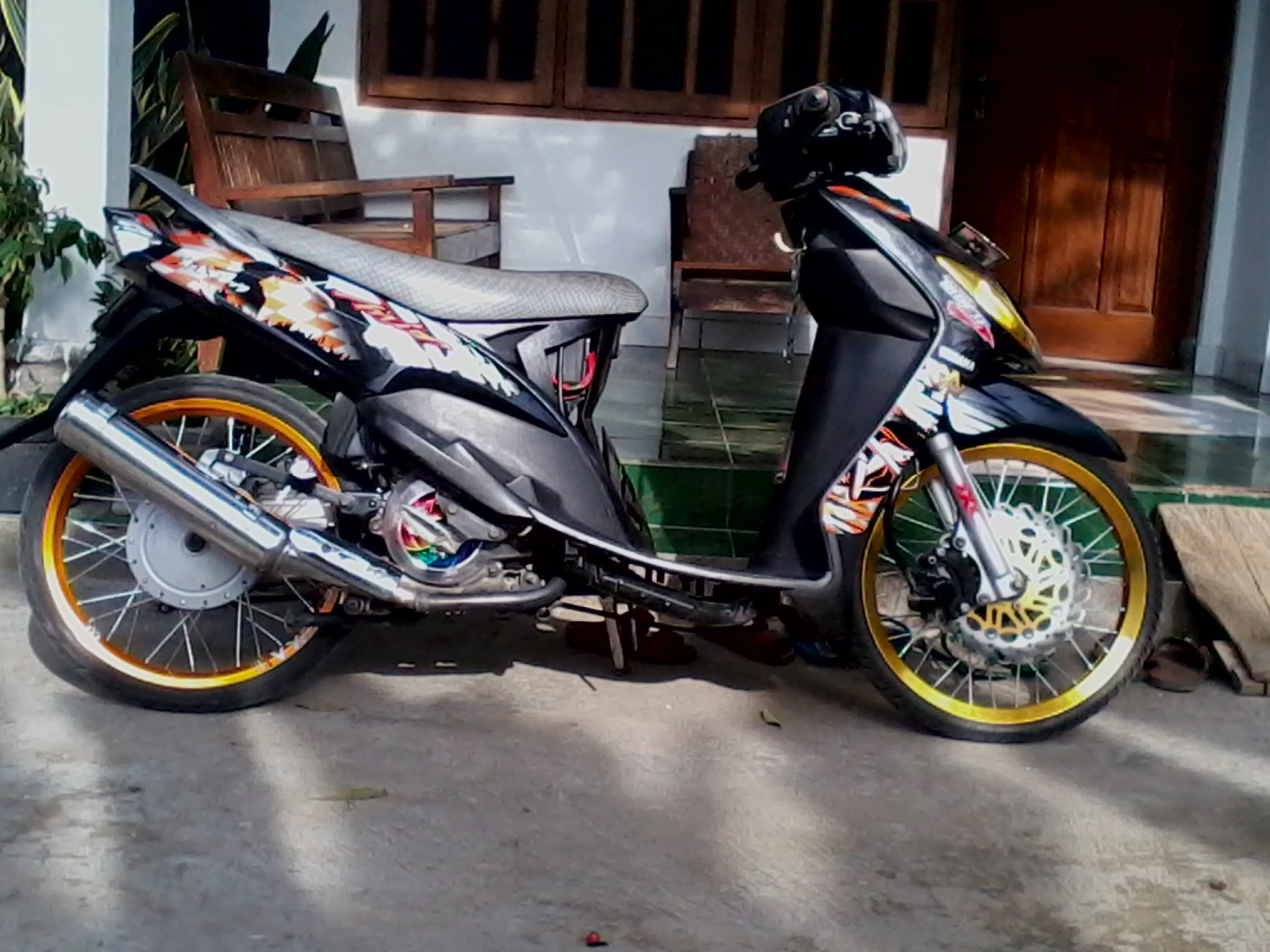 modifikasi mio sporty ring 17 terkeren