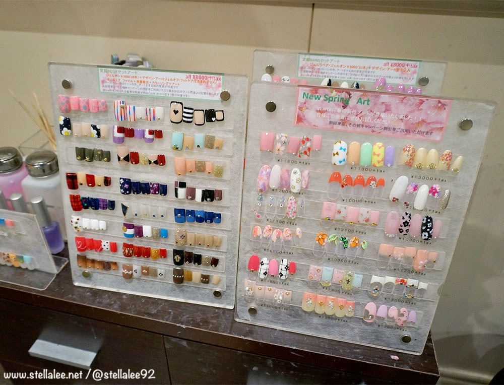 Nail Salon in Tokyo - Verita Nail Salon | *☆ Stella Lee\'s Blog ...