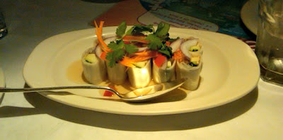 Bangkok Cafe - food beautifully presented!