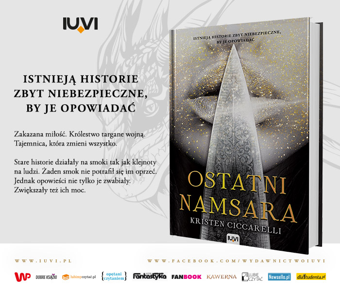 """Ostatni namsara"" z serii ""Iskari"" Kristen Ciccarelli"