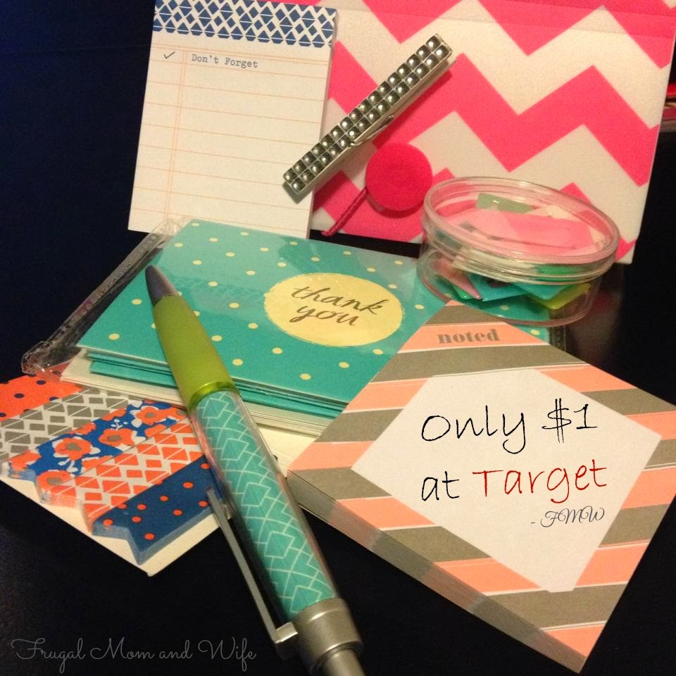Frugal mom and wife stylish office supplies only 1 at for Trendy office supplies