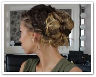 видео онлайн Элегантная причёска за 5 минут