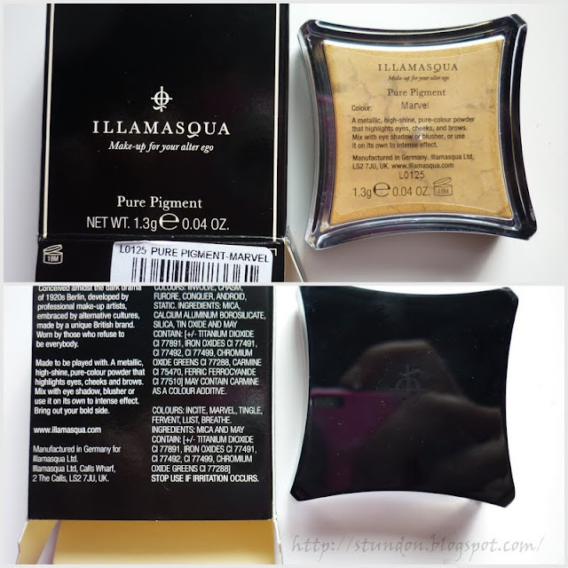illamasqua pure pigment in marvel