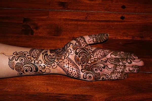 Rajasthani Mehndi Designs For Hands  Latest Style