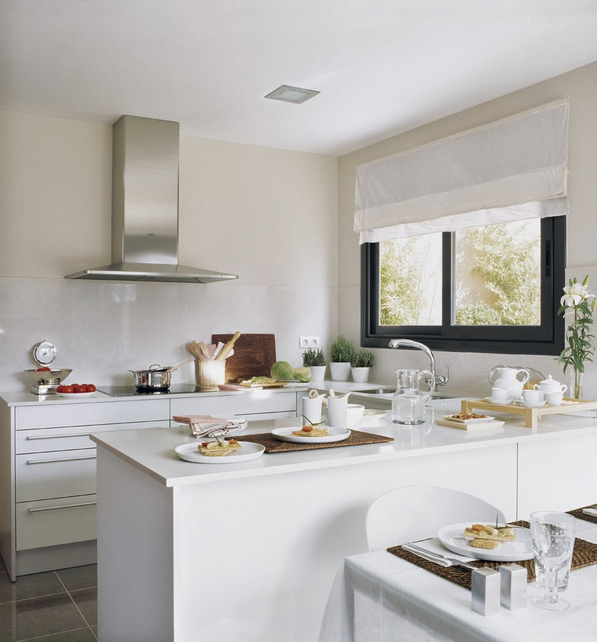 Becca decoraci n sagrario rodulfo una isla en la cocina - Cocinas con peninsula ...